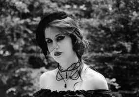 Old school gothic by Mousellyca