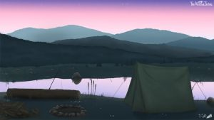 Nora's Campsite by NuclearJackal