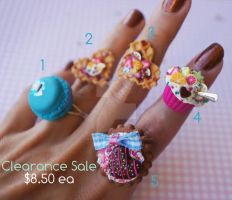 Rings Clearance Sale by colourful-blossom