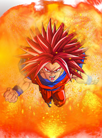 Super Saiyan God Ultimate  Goku by EliteSaiyanWarrior