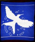 Mockingjay Cover Blanket by Shywalker