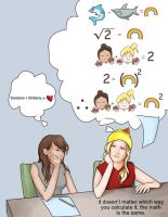 Brittana: the math by SephyStabbity