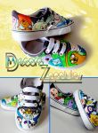 Adventure Time shoes by Raw-J