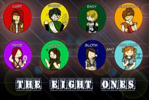Eight...Deadly Sins by shafry
