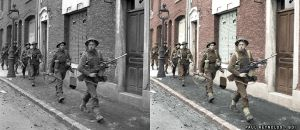 Coldstream Guards Arras France 1944 by B-D-I