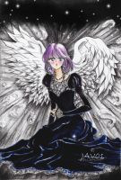 hotaru tomoe - Angel of Death by zelldinchit