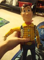 My new Woody doll by spidyphan2