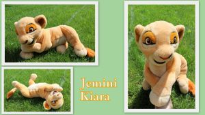 Jemini Kiara plush by Laurel-Lion
