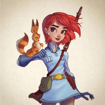 Nausicaa by chrissie-zullo