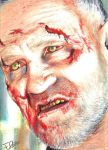 The Walking Dead Merle Walker Sketch by Dr-Horrible