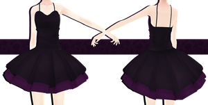 .:: MMD COMMISSION - Dress ::. by AneCoco