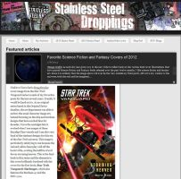Star Trek Book Cover by Doug Drexler a big hit. by Casperium