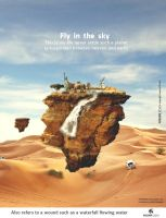 Fly in the Sky by HOSSAMH
