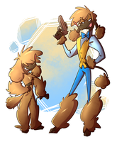 ZP Character Design Contest: Shaun by 7-Days-Luck