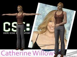 CSI 4 CATHRINE WILLOWS by OoFiLoO
