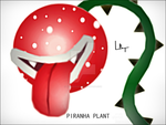 The Piranha Plant by Tutan-Koopa