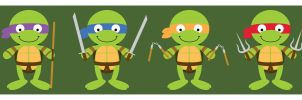 tmnt by striffle
