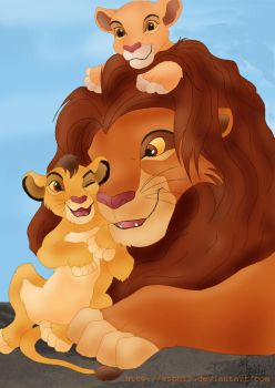 The prides of Simba by Asphil