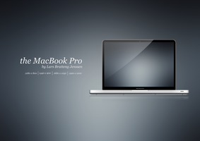 the MacBook Pro. with WP by Larsbjenssen