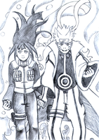 Commission: NaruHina - Chapter 615 by ArisuAmyFan