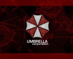 Umbrella Corporation Wallpaper by KittiofDOOM