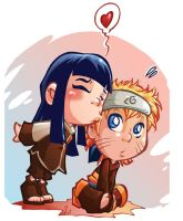 valentine's naruto and hinata by dekarogue