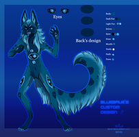 BlueBrue's Custom Design -Commission- by SouOrtiz