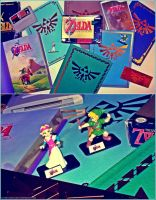 MY ZELDA COLLECTION PART ONE by SoenkesAdventure