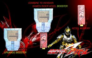 ACCEL BOOSTER drive paper model by aerizu