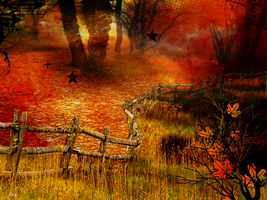 Autumns Path by J-Dove