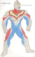 G Reborn ULTRAMAN DYNA by KingShisa08