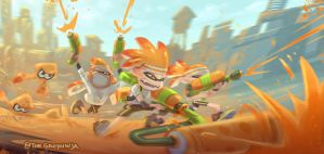 Splatoon by TheGreyNinja