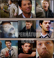 62 SPN icons. by llWickedll