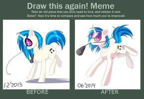 Before And After Meme - Dj Pon-3 by Margony