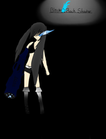 Black Rock Shooter colored by pallaza