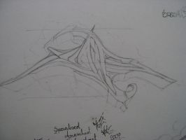 sketch for the wall by s-a-l-t