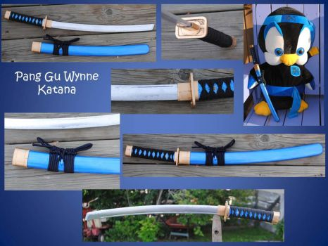The Pang Gu Wynne Katana by fixinman