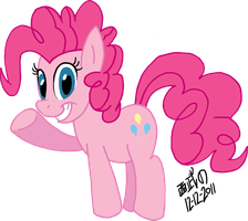 Pinkie Pie by TuxedoMoroboshi