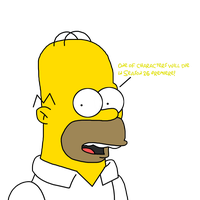 Homer Simpson talks about characters dying by SuperMarcosLucky96