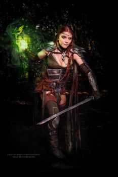 Elven Hero Cosplay from Elder Scrolls Online by ArtcoreCosplay