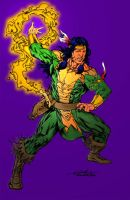 Shaman - Juan Cabral Colors by SpiderGuile