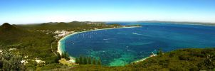 Port Stephens Lookout by TaGiRoCkS