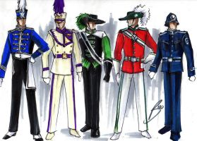 Military Alternates... by Becorps