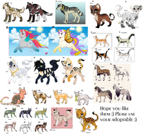 30 Adoptables (MOST FREE) -OPEN- by Talitah