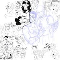 marvel - doodles by spoonybards