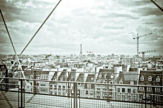View of Paris by Bloodprayer