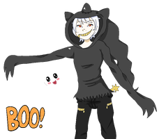 OC: Boo! by BunsDream