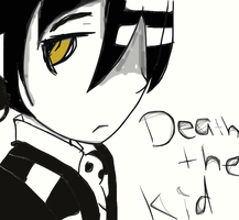death the kid by animedrawer10