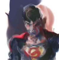 Night Time Oily Superman by ChloeC