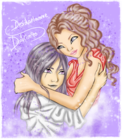Dokinzo and Desidarianne by joyfullmelody
